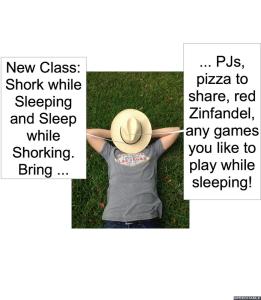 MS. NODOFF SHORK WHILE SLEEPING