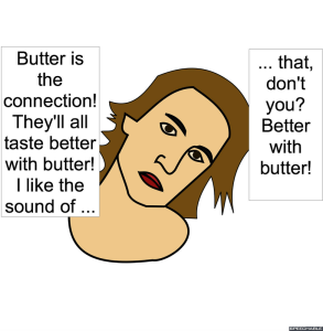 GRAVITATIONAL AFFECT SPECIALIST BUTTER