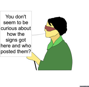 LEAD REPORTER FROG SIGNS