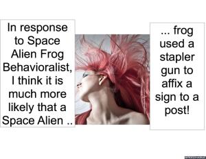 SPACE ALIEN FROG THERAPIST