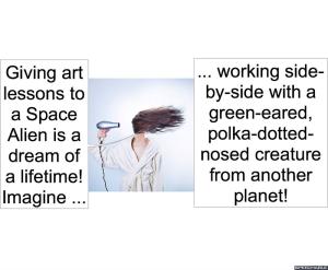 ARTIST AH SPACE ALIENS