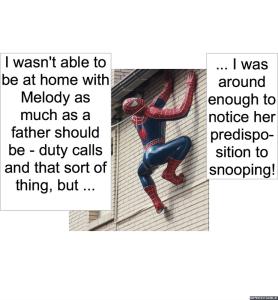 MELODY AGOGO'S FATHER SNOOPING