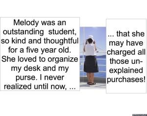 MELODY AGOGO'S KINDERGARTEN TEACHER PURCHASES