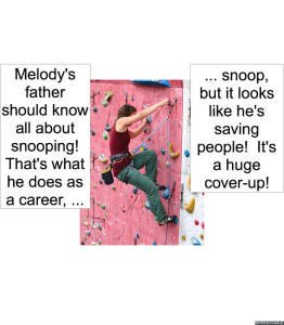 MELODY AGOGO'S MOTHER COVER-UP