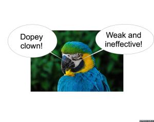 nod-pmurt-parrot-dopey-clown