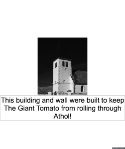 building-and-wall-giant-tomato