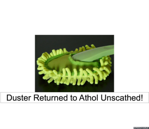 duster-unscathed
